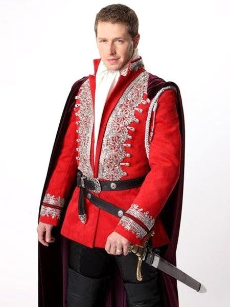 Once Upon A Time David Nolan Cosplay Costume Red Prince Costume