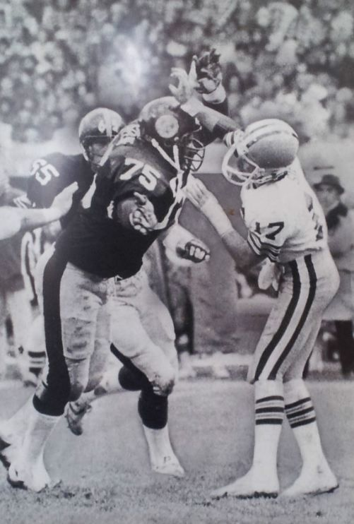 da898ee644e Steelers Browns Rivalry - Mean Joe Greene | Pittsburgh Steelers | Pittsburgh  sports, Pittsburgh Steelers, Steelers football