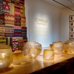 Dale Chihuly Northwest exhibit - Tabac Basket Table, currently at OKC Museum of Art til April 8th