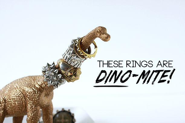 Dinosaur Ring Holder DIY | The Band Wife