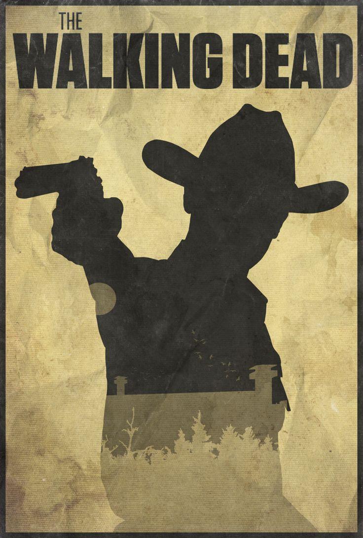 Wa walking dead pumpkin stencil - Holding Hope The Walking Dead Poster By Edwin Julian Moran Ii