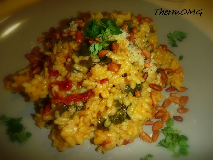 Sun Dried Tomato Risotto - ThermOMG