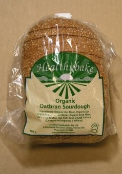 Oatbran Sourdough. Also yummy.