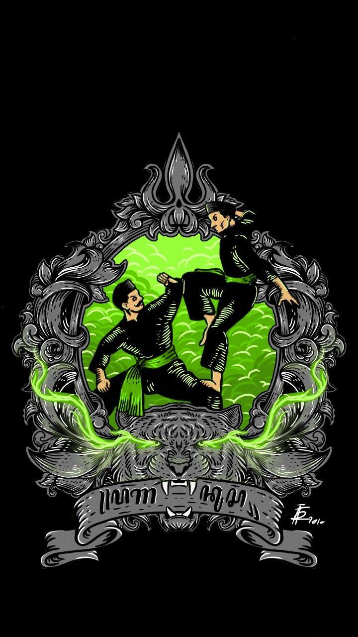 Gambar Logo Pencak Silat : gambar, pencak, silat, Pagar