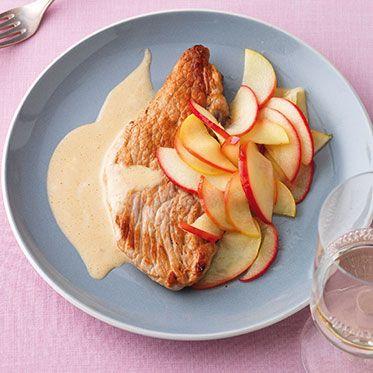 Calvados-Schnitzel Rezept | Küchengötter
