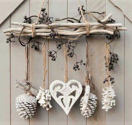 Pour vous inspirer dans vos créations et décorations de Noël à faire soi mê…