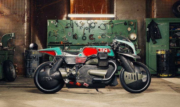 Vertigo - Vibrazioni Art-Design Moto Guzzi Audace for Lord of the Bikes Italy - via returnofthecaferacers.com