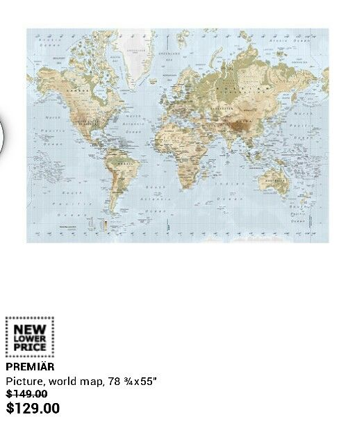World Map (IKEA)