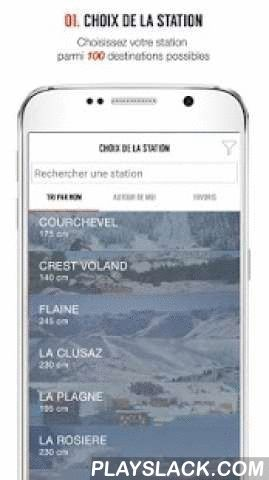 SKI 360  Android App - playslack.com ,  LOGIN TO FRENCH SKI RESORTS !Share with 200 000 skiing people on SKI 360 and discover news, activities, exclusive deals and more !LIVE INFORMATION- Weather forecasts- Snow report - Webcams- Live 360 : live photos of your resort from Instagram and FacebookRESORT GUIDE- Trail map- Activities- EventsSPECIAL OFFERS- Exclusive deals on ski pass, ski rental or holidays- Skiing insuranceSHARING- GPS Challenge- Competitions----------Stations disponibles…