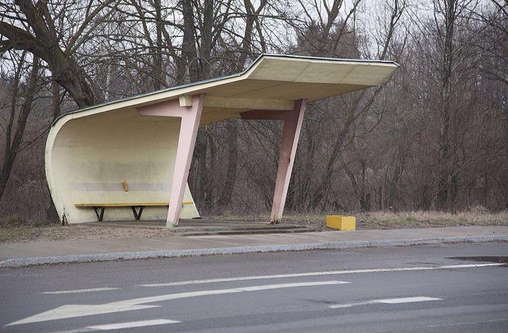 Chris Herwig - Soviet bus stops - Latvia