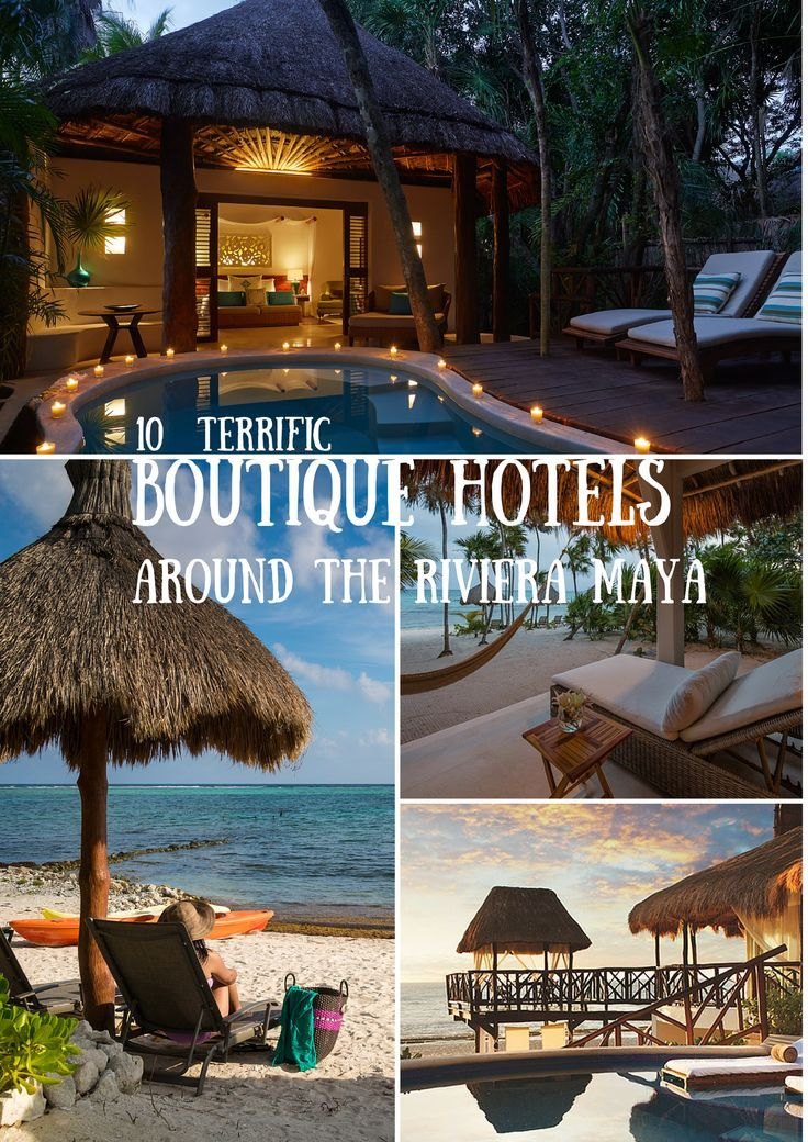 This Riviera Maya, Mexico is liberally peppered with boutique hotels and fine dining restaurants. With the sort of climate that is ideal to holiday in, the Riviera Maya is an ideal holiday destination... #JustBoutiqueHotels #MexicoBoutiqueTravel #BoutiqueTravel