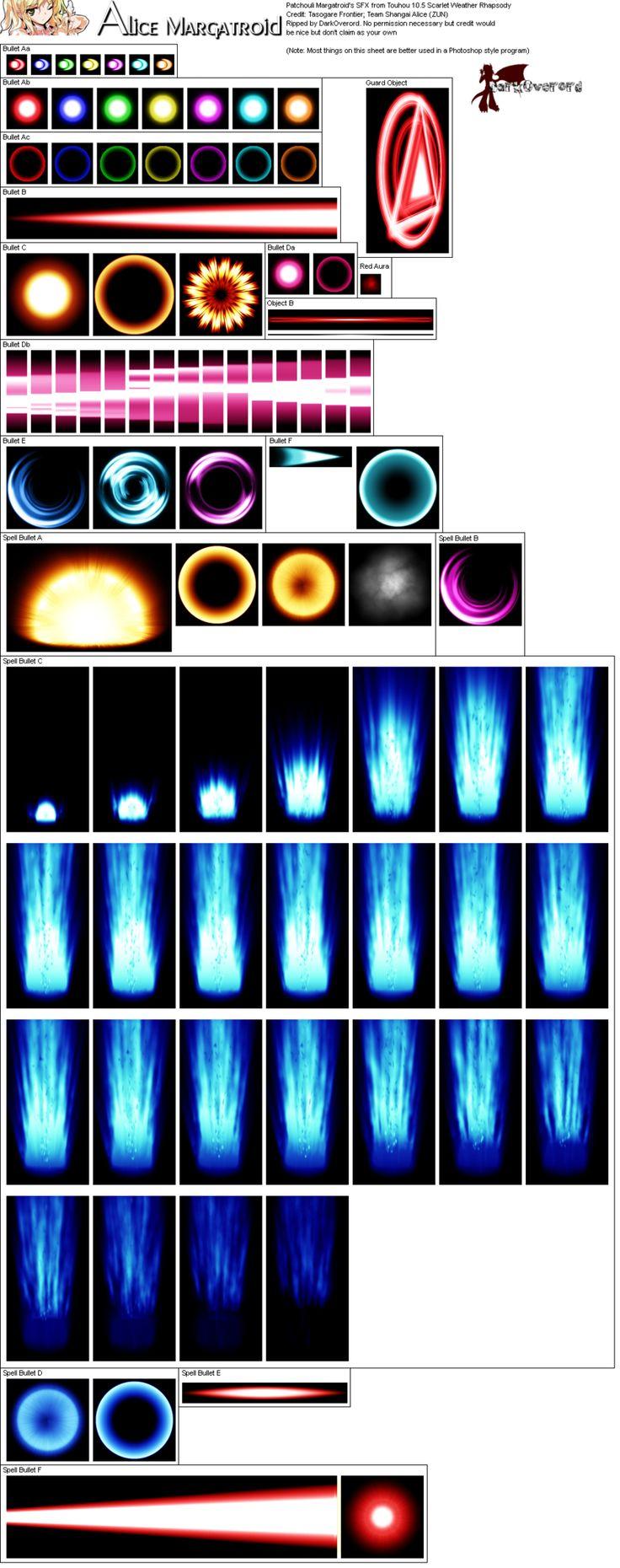 Ultimate Effects Sheet 8 by Xypter on deviantART