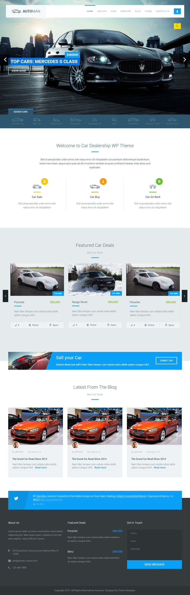 Automan is premium full responsive html5 car dealership template retina ready angularjs bootstrap