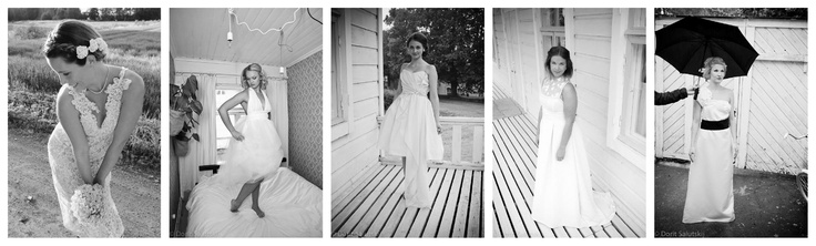 Wedding dresses made by I Love dresses. Picture: Dorit Salutskij, http://forthosewholovedresses.wordpress.com/