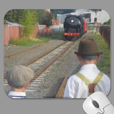 Boys with Train