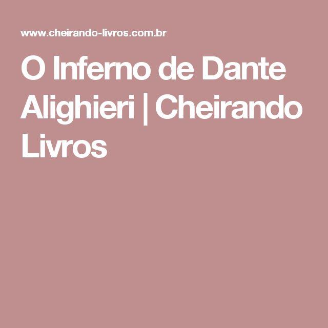 O Inferno de Dante Alighieri | Cheirando Livros