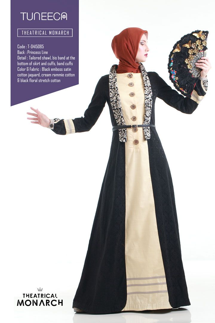 The Black Ragazza Tale by Tuneeca  #tuneeca #muslimwear #hijab #fashion #ethnic