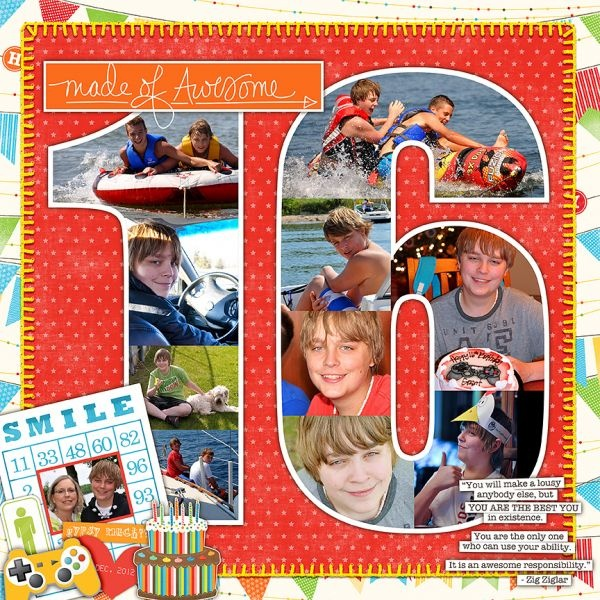 Awesome Scrapbook Photos Ideas 16th Birthday Compilation Photo And