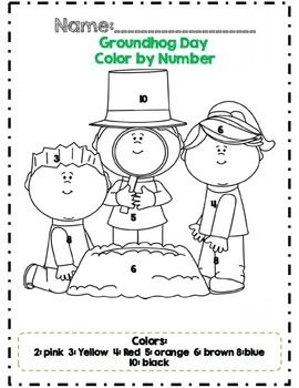 Kindergarten Groundhog Day Math Adventures *Common Core
