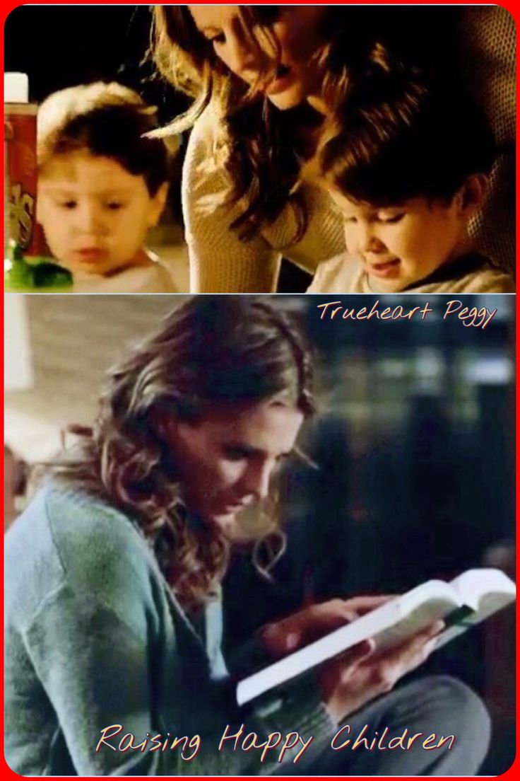 In The Good the Bad and the Baby, Kate checks the how to baby book. In the Castle series finale Kate, helps her own children. No secret how to raise happy children:  With love