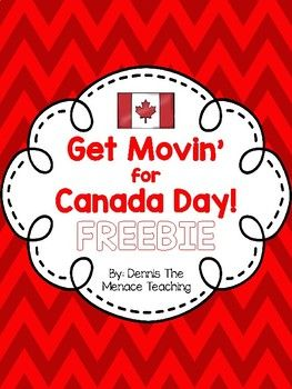 The following are cards that can be displayed in your classroom through your Dance Unit or a special activity you use for Canada Day! There are a total of seven cards: beaver, hockey player, caribou, Canada goose, Mountie, polar bear, and snowy owl.