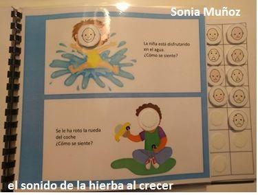 Sonia Muñoz es la implicadísima mamá de un campeón con el que va avanzando pasito a pasito. Han comenzado hace poco con las Emociones, ...