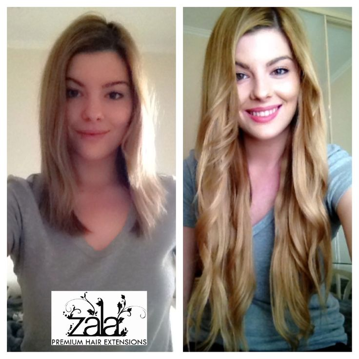 The Beautiful Alyssa Showing Off Her New ZALA Clip In Hair Extensions Honey Blonde