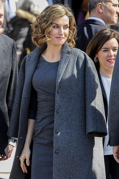 Queen Letizia of Spain attends the 'Miguel de Cervantes de La Vida Al Mito'…