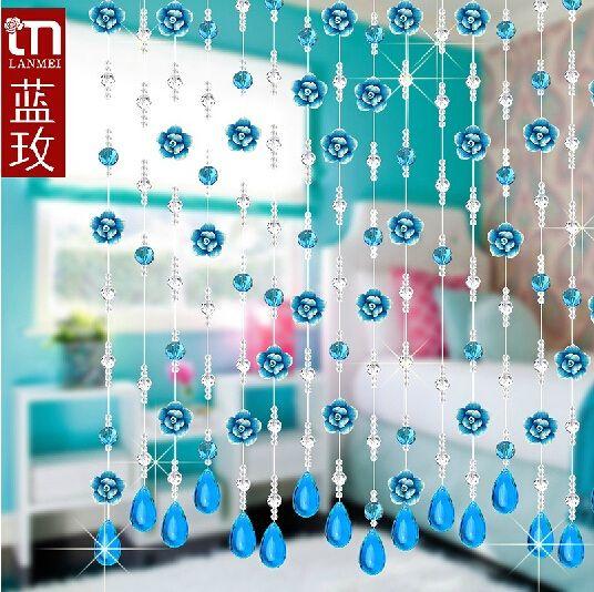 Один метр хрусталя полосы хрусталя бусины занавес окна двери кристаллический занавес гостиной прохождение свадебные бесплатная доставка купить на AliExpress
