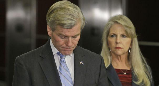 US Probation Office Recommends Ten Years In Prison For GOP Ex-Governor Bob McDonnell (transvanginal ultrasound  governer) Couldn't happen to a nicer guy. Maybe he might get the benifit of being probed while he is there!