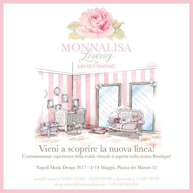 Come to Naples and discover the new range with an enthusiastic augmented reality experience.  Monnalisa Living by Savio Firmino is waiting for you in the Monnalisa boutique till Sunday, May 14th…  don't miss it!
