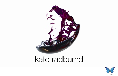 Kate Radburnd, New Zealand. Branding by Luvly Ltd. www.luvly.co.nz