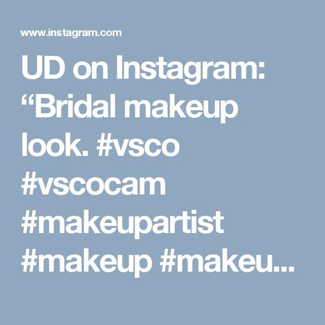 "UD on Instagram: ""Bridal makeup look. #vsco #vscocam #makeupartist #makeup #makeupaddict #makeupaddiction #makeupjunkie #mua #zürich #schweiz #inssta_makeup #instaglam #itsgenesys #mayamiamakeup #vegas_nay #hudabeauty #wakeupandmakeup #makeupartistsworldwide #bride #bridal #wedding #todayslook #love ✖️ Products ✖️ Face - #mac Studio Fix Fluid Foundation - MAC Pro Longwear Concealer - MAC Pro Emphasize - #bobbibrown Bronzing Powder/Natural - MAC Pro Longwear Blush/Rosy Outlook - #hourglass…"