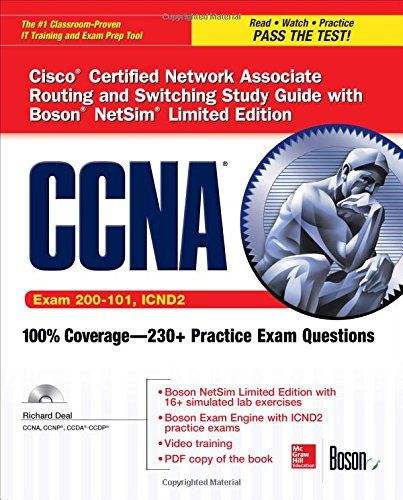 Download free CCNA Routing and Switching ICND2 Study Guide (Exam 200-101 ICND2) with Boson NetSim Limited Edition (Certification Press) pdf