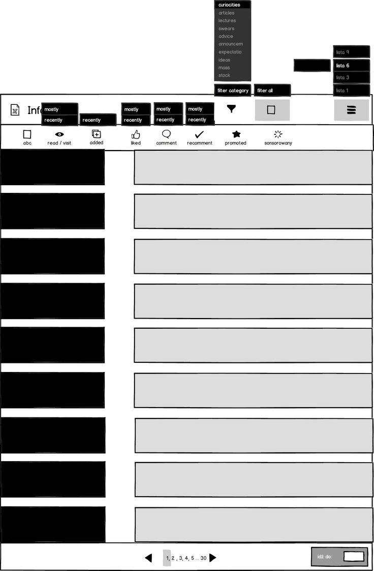 Wedding companies_Information Extended mockup_example of list view_ 6 lines ( concept 2)