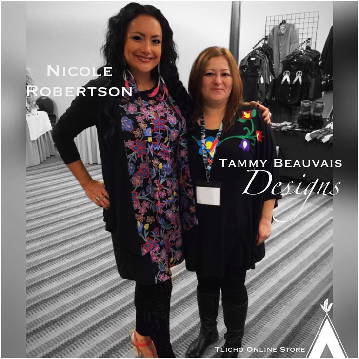 Nicole Robertson of Muskwa Productions & Consulting wearing beautiful Tammy Beauvais Designs at #Cando2015 in #Toronto