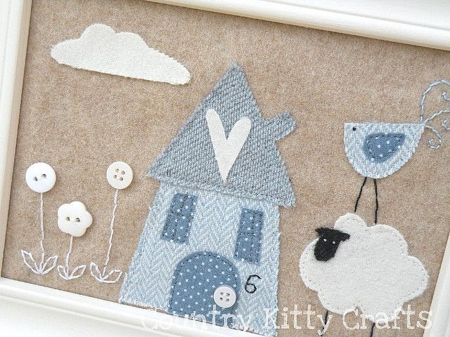 little cute house by countrykitty, via Flickr