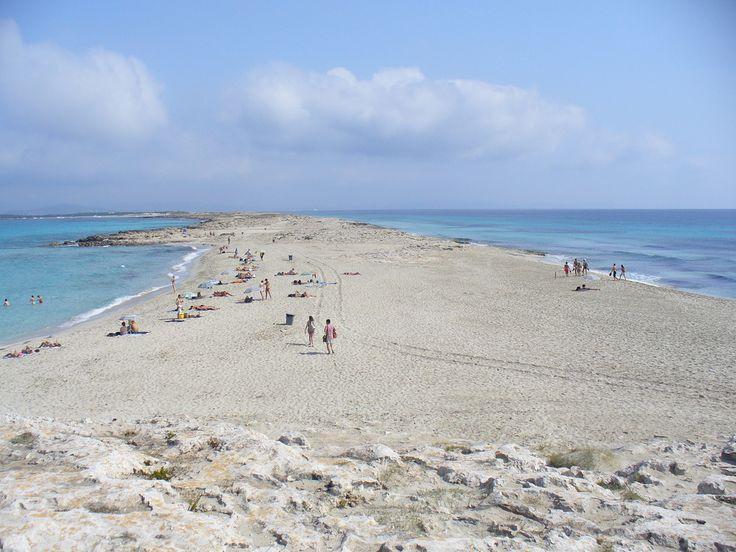 Surcando mares playa de Illetes