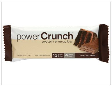 Power Curnch Triple Chocolate Protein Bar Review