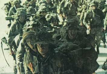 82nd Airborne Grenada in 1983 | paratroopers of the 82 nd airborne division after helping the rangers ...