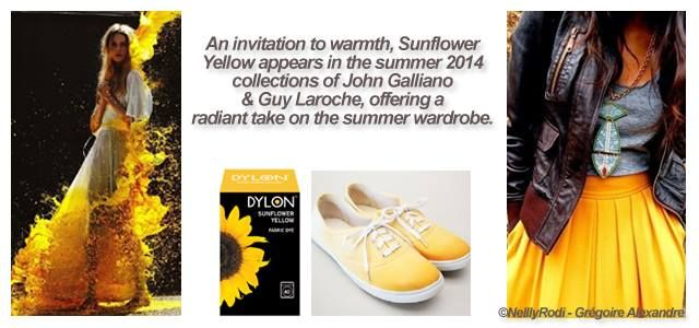 DYLON Machine Dye - Sunflower Yellow Our colour trend experts have spoken and along with Powder Pink, Sunflower Yellow is one of the top shades to rock this summer! Will you be dipping your toes in the sunshine?http://www.gagva.com.tr/Dylon---Boya-ve-Beyazlaticilar,LA_144-2.html#labels=144-2