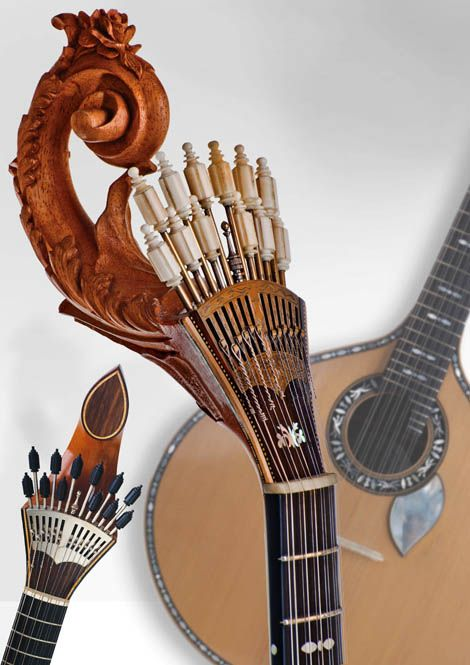 Portuguese guitar by Rolando Oliveira