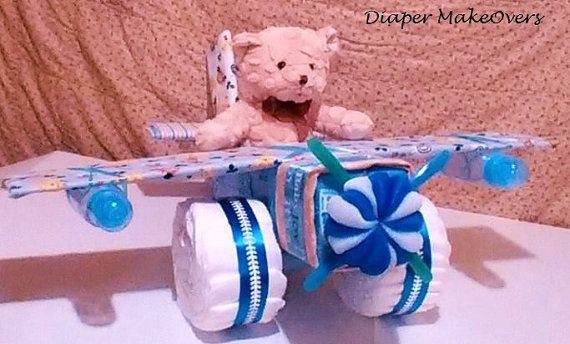 Hey, I found this really awesome Etsy listing at https://www.etsy.com/listing/222206710/airplane-diaper-cake