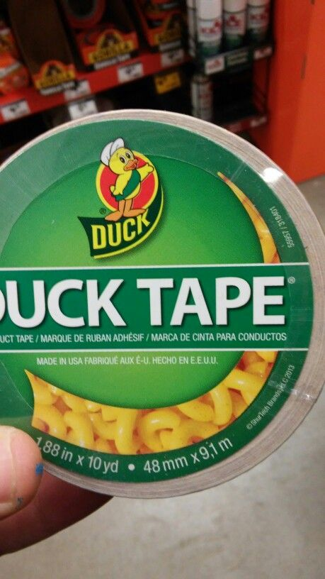 Mac and cheese duct tape seems legit