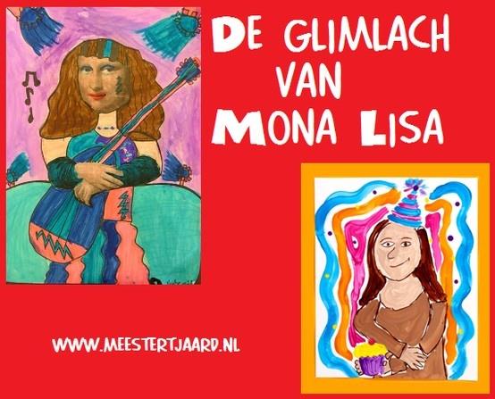 De glimlach van Mona Lisa - 2 lessen voor tekenen en schilderen.