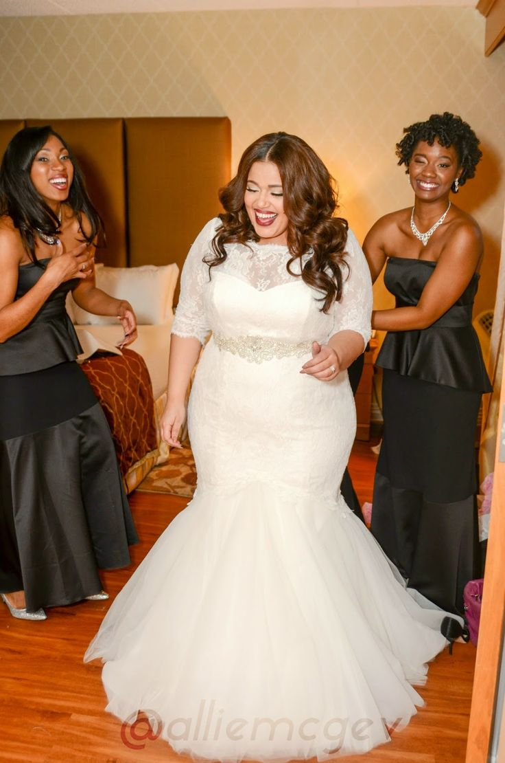 Palomablancawed inside allie 39 s world sharing a few of for Best wedding dress styles for plus size brides