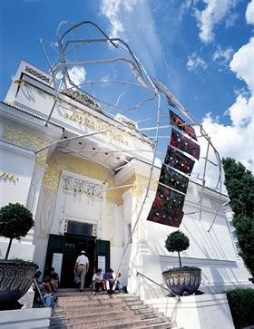 From my Art Nouveau Tour of 2003 Vienna - Succession Museum.  Klimt ground zero.