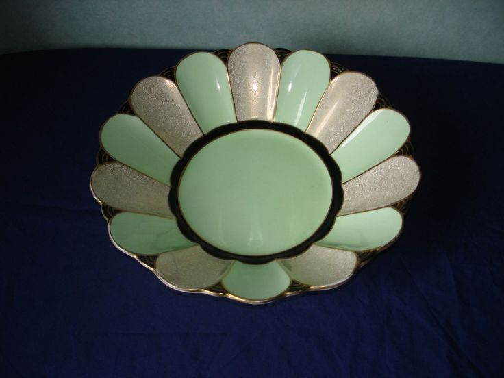 Classic Art Deco Round Bowl by Tuscan Plant China | eBay