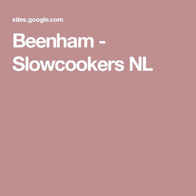 Beenham - Slowcookers NL