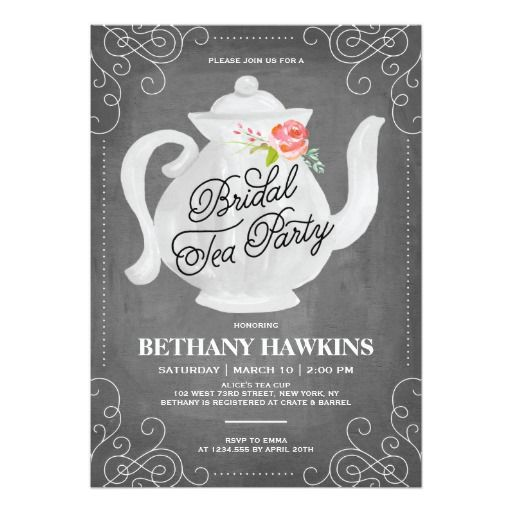 1040 best images about Bridal and Wedding Shower Invitations and – Bridal Shower Invitations Tea Party Theme